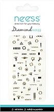 Parfémy, Parfumerie, kosmetika Nálepky na nehty, 3709 - Neess Diamondneess