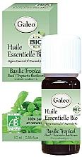 Parfémy, Parfumerie, kosmetika Organický esenciální olej z bazalky tropické - Galeo Organic Essential Oil Basilic Tropical