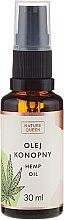 Parfémy, Parfumerie, kosmetika Kosmetický konopný olej - Nature Queen Hemp Oil