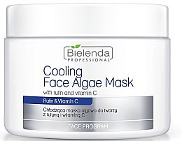 Parfémy, Parfumerie, kosmetika Alginátová maska na obličej s rutinem a vitaminem C - Bielenda Professional Cooling Face Algae Mask