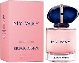 Parfémy, Parfumerie, kosmetika Giorgio Armani My Way - Parfémovaná voda