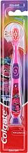 Parfémy, Parfumerie, kosmetika Dětský zubní kartáček, 2-6 let, růžovo-fialový, troll - Colgate Smiles Kids Extra Soft