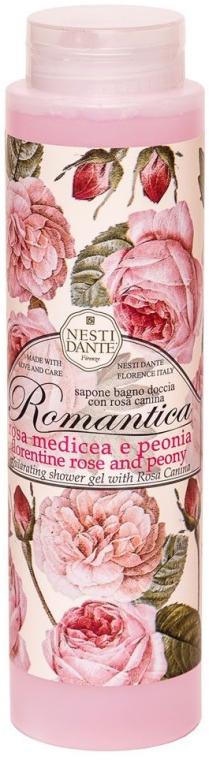 """Sprchový gel """"Růže a Pivoňka"""" - Nesti Dante Romantica Shower Gel"""