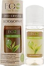 """Parfémy, Parfumerie, kosmetika Tělový deodorant """"Dubová kůra a zelený čaj"""" - ECO Laboratorie Deo Crystal"""