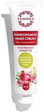 Parfémy, Parfumerie, kosmetika Marhaníkový krém na ruce s aloe vera - Yamuna Pomegranate Hand Cream With Aloe Vera
