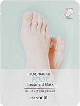 Parfémy, Parfumerie, kosmetika Maska na nohy - The Saem Pure Natural Foot Treatment Mask