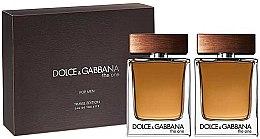 Parfémy, Parfumerie, kosmetika Dolce & Gabbana The One For Men - Sada (edt/2x50ml)