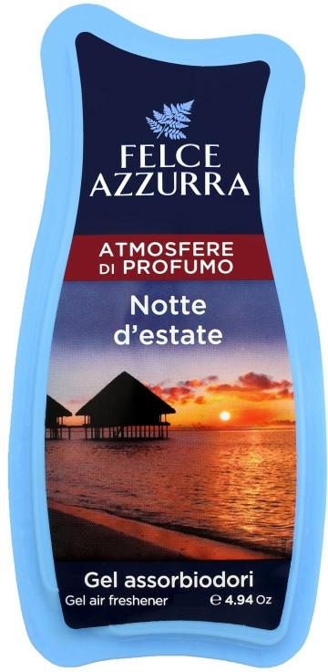 Osvěžovač - Felce Azzurra Gel Air Freshener Notte d'estate