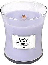 Parfémy, Parfumerie, kosmetika Vonná svíčka ve skle - WoodWick Hourglass Candle Lilac
