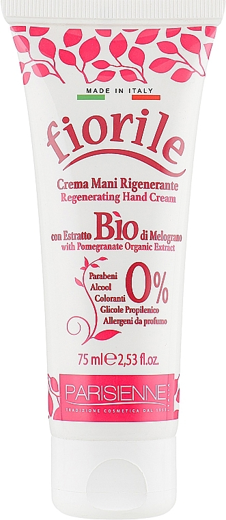 Krém na ruce Granátové jablko - Parisienne Italia Fiorile Pomergranate Hand Cream