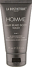 Parfémy, Parfumerie, kosmetika Gel na tělo, vlasy a vousy - La Biosthetique Homme Hair Beard Body Wash