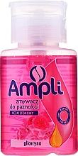Parfémy, Parfumerie, kosmetika Odlakovač na nehty s glycerinem bez acetonu - Ampli