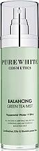 Parfémy, Parfumerie, kosmetika Pleťový sprej - Pure White Cosmetics Balancing Green Tea Mist
