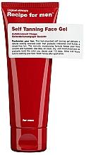 Parfémy, Parfumerie, kosmetika Gel na samoopalování - Recipe For Men Self Tanning Face Gel