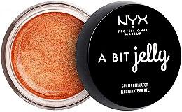 Parfémy, Parfumerie, kosmetika Gel-rozjasňovač pro obličej - NYX Professional Makeup A Bit Jelly Gel Illuminator