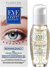 Parfémy, Parfumerie, kosmetika Bioaktivní hydratační oční gel - Floslek Eye Care Bioactive Moisturizing Gel Under Eyes And Around Mouth Area