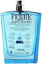 Parfémy, Parfumerie, kosmetika Gianfranco Ferre Acqua Azzurra - Toaletní voda (tester bez víčka)