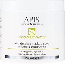 Parfémy, Parfumerie, kosmetika Rozjasňující maska na obličej - APIS Professional Discolouration-Stop Brightening Algae Mask For Reduction of Discolouration