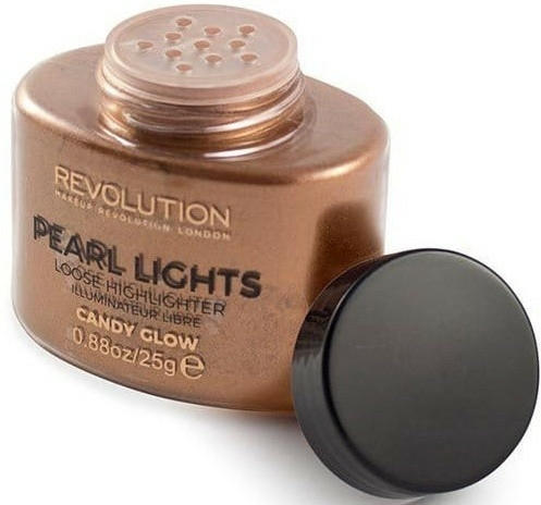 Sypký na obličej rozjasňovač - Makeup Revolution Pearl Lights Loose Highlighter