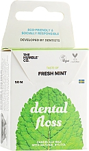 "Parfémy, Parfumerie, kosmetika Dentální nit -floss ""Čerstvá máta"" - The Humble Co. Dental Floss Fresh Mint"