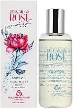 Parfémy, Parfumerie, kosmetika Tělový olej s extraktem hnědých mořských řas - Bulgarian Rose Brown Algae Extract Body Oil