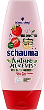 Kondicionér pro velmi poškozené vlasy Jahoda, Banán a Semínka Chia - Schauma Nature Moments — foto N1