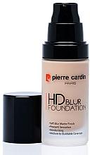 Parfémy, Parfumerie, kosmetika Make-up - Pierre Cardin HD Blur Foundation