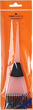 Parfémy, Parfumerie, kosmetika Štětec na barvení vlasů, 65002, bílo černý - Top Choice