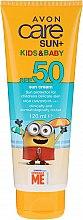 Parfémy, Parfumerie, kosmetika Opalovací krém pro děti - Avon Sun+ Kids And Baby Sun Cream SPF50