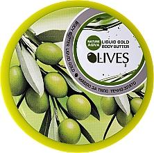 Parfémy, Parfumerie, kosmetika Tělové máslo s olivovým extraktem - Nature of Agiva Olives Body Butter