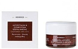 Parfémy, Parfumerie, kosmetika Zpevňující krém proti vráskám s kaštanem - Korres Castanea Arcadia Antiwrinkle&Firming Day Cream For Dry and Very Dry Skin