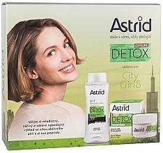 Parfémy, Parfumerie, kosmetika Sada - Astrid Citylife Detox (cr/50ml + m/water/400ml)