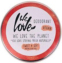 Parfémy, Parfumerie, kosmetika Přírodní krémový dezodorant - We Love The Planet Deodorant Sweet & Soft