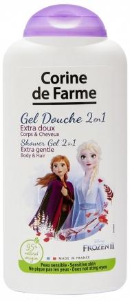 "Šampon a sprchový gel 2 v 1 ""Anna a Elsa"" - Corine de Farme Frozen"