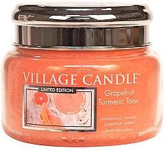Parfémy, Parfumerie, kosmetika Vonná svíčka ve skle - Village Candle Grapefruit Turmeric Tonic Glass Jar