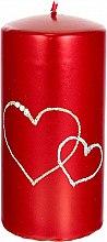 Parfémy, Parfumerie, kosmetika Dekorativní svíčka červená, 7x14cm - Artman Forever