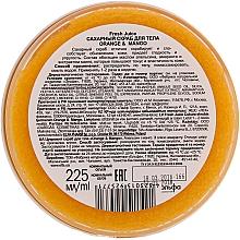 Cukrový tělový peeling - Fresh Juice Orange and Mango — foto N6