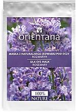 """Parfémy, Parfumerie, kosmetika Maska na oční okolí """"Rosemary"""" - Orientana Eye Silk Pad Rosemary"""