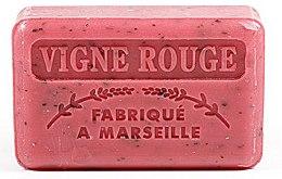 Parfémy, Parfumerie, kosmetika Marseille mýdlo Vinná réva - Foufour Savonnette Marseillaise Vigne Rouge