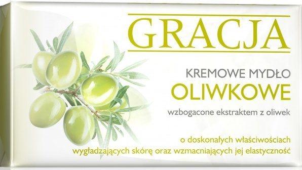 Toaletní mýdlo s olivovým extraktem - Gracja Olive Cream Soap