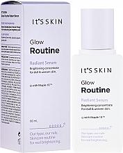 Parfémy, Parfumerie, kosmetika Sérum na obličej s efektem záření - It's Skin Glow Routine Radiant Serum