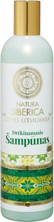 Hydratační vlasový šampon - Natura Siberica Loves Lithuania Moisturize Shampoo — foto N1
