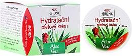 Parfémy, Parfumerie, kosmetika Hydratační krém na obličej - Bione Cosmetics Aloe Vera Hydrating Facial Cream With Panthenol And Ectoine