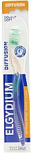 Parfémy, Parfumerie, kosmetika Zubní kartáček Diffusion, měkký, zelený - Elgydium Diffusion Soft Toothbrush