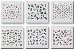 Parfémy, Parfumerie, kosmetika Nálepky na nehty, komplet 42942 - Top Choice Nail Decorations Stickers Set