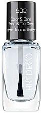 Parfémy, Parfumerie, kosmetika Jemná bazé a vrchní vrstva na nehty s avokádovým olejem - Artdeco Color & Care Base & Top Coat 902