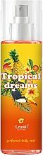 Parfémy, Parfumerie, kosmetika Lazell Tropical Dreams - Tělový sprej