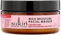 """Parfémy, Parfumerie, kosmetika Intenzivně hydratační obličejová maska """"Šípek"""" - Sukin Facial Masque"""