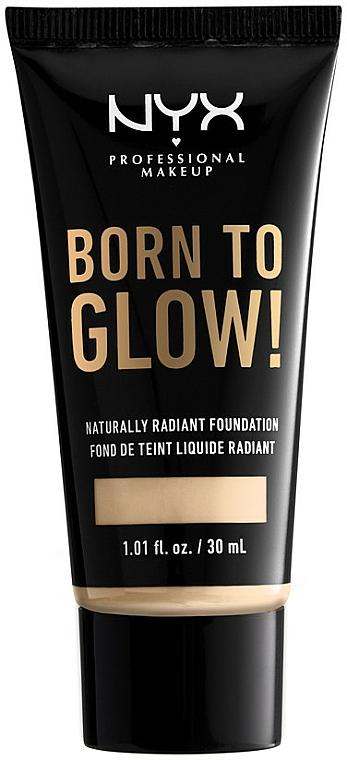 Tekutý tónovací krém - NYX Professional Makeup Born To Glow