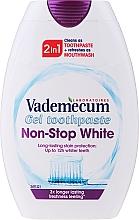 Parfémy, Parfumerie, kosmetika Bělicí zubní pasta 2 v 1 - Vademecum Non-Stop White 2in1 Toothpaste + Mouthwash